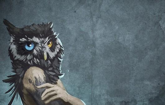 Арт человек-сова