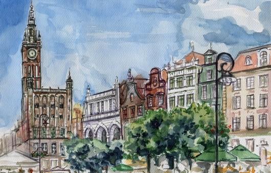 Живопись улиц Лондона