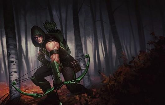 Арт персонаж из игры Oliver Queen