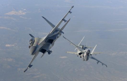 Самолеты Су-30