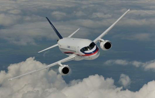 Самолет superjet 1