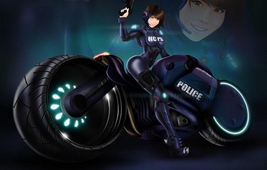 Полицейский байк