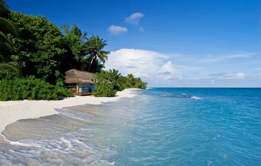 Фотообои Пейзаж на Мальдивах