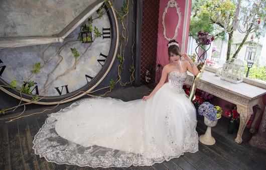Фотообои Девушка в свадебном платье