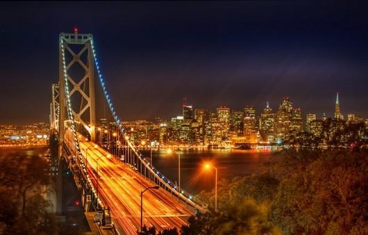 Вид с мостом