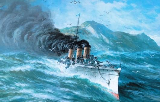 Корабль опавший в шторм