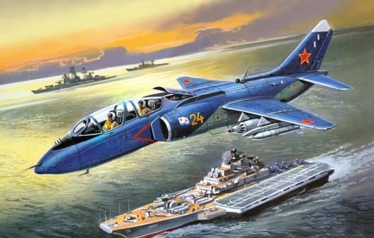 Самолет Як-38