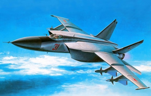Фотообои Самолет Миг-25