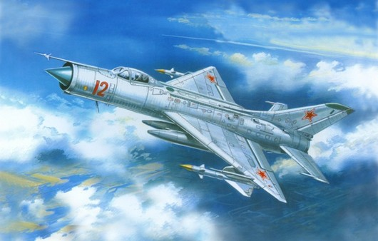 Самолет Миг-21Ф