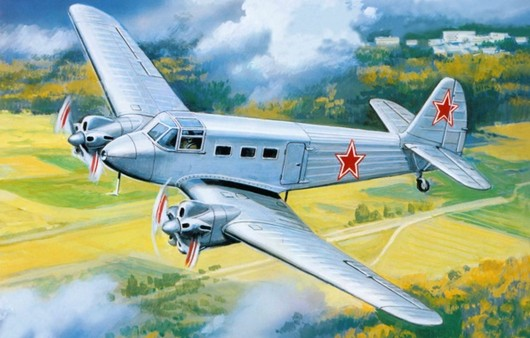 Самолет Як-8