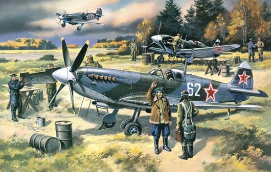Самолет Spitfire