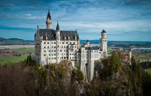 Замок в Баварии