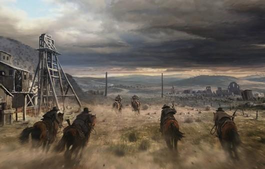 Ковбои на ранчо