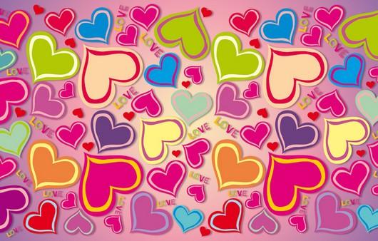 Текстуры с сердечками