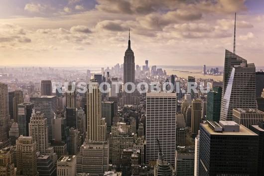 Фотообои Нью-Йорк в жаркий день