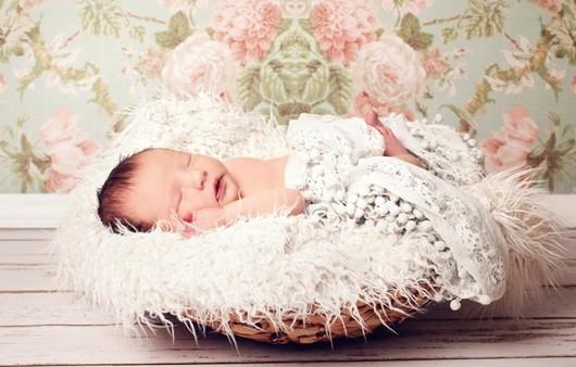 Фотообои Спящий малыш