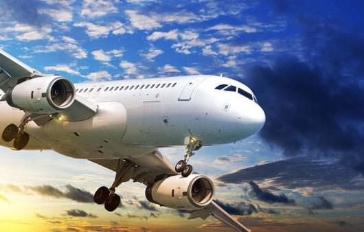 Фотообои Пассажирский авиалайнер