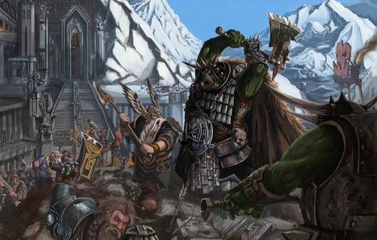 Кадр из игры Warhammer