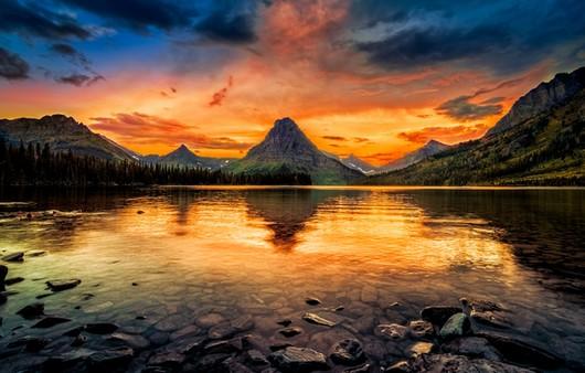 Фотообои Пейзаж озера в США