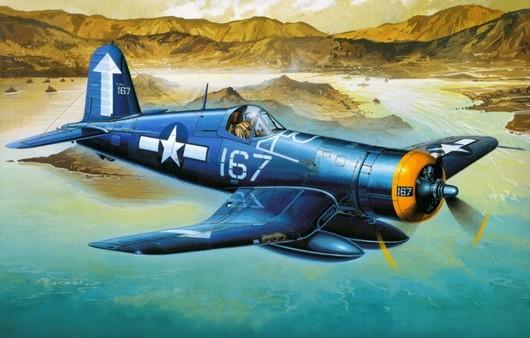 Самолет F4U-1D