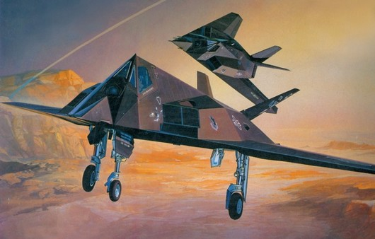 Самолет F117A