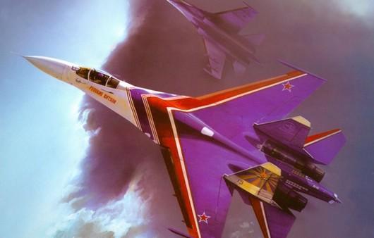 Самолет Су -27