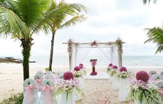 Свадебное торжество в тропиках