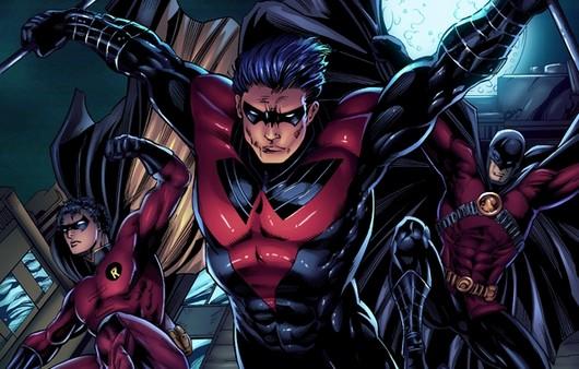 Супергерои из DC comics
