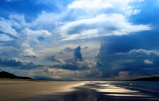 Фотообои Облако и море