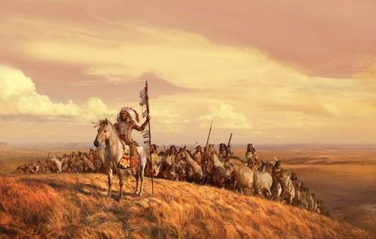 Вожак индейцев
