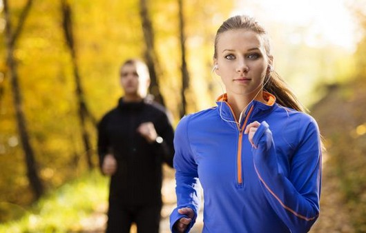 Портрет спортивной девушки