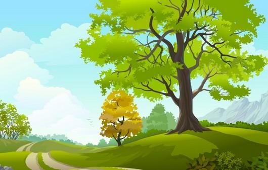 Деревья в 3Д