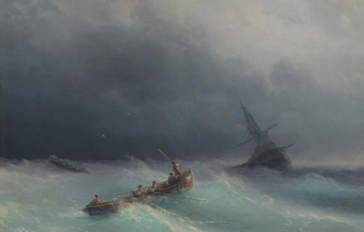 Картина Айвазовского море