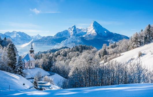 Фотообои Альпы в Германии