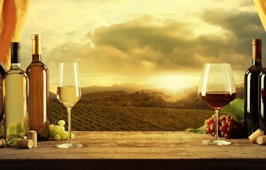 Вино на окне