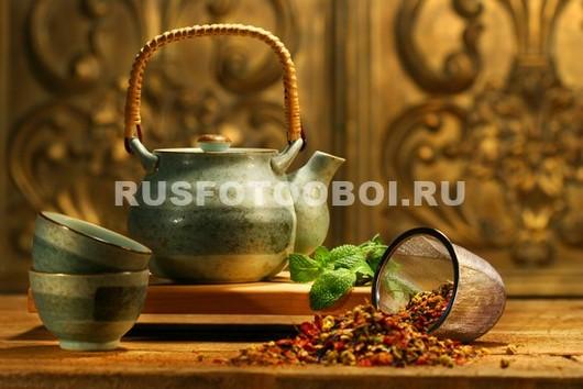 Фотообои Чай с мятой