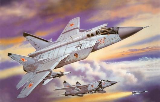 Фотообои Самолет МигГ-31