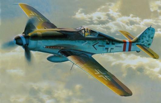 Самолет FW-190D