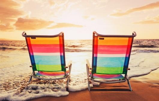Фотообои Отдых на пляже