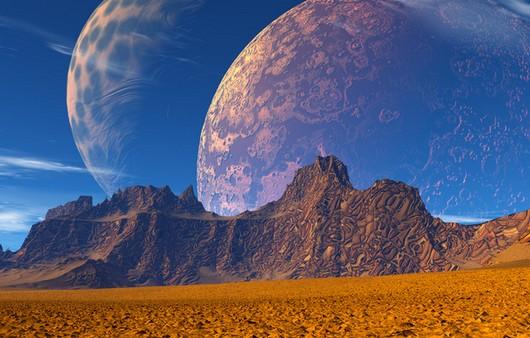 Планеты в горах
