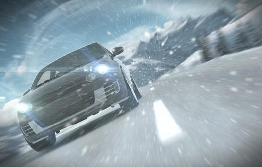 Машина разгоняющая снежный вихрь