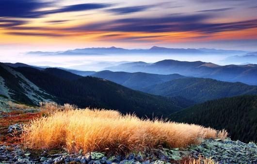 Красивейший пейзаж гор