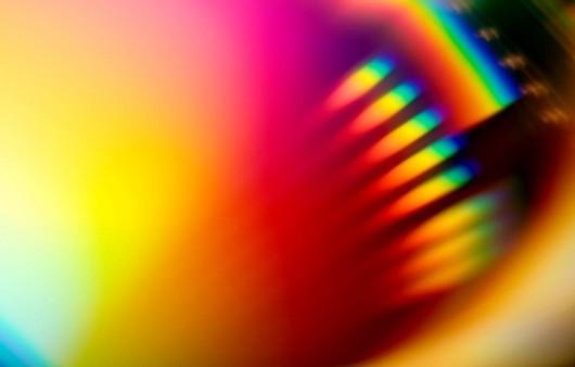 Абстракция радуги