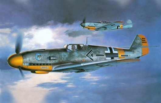 Самолет Bf-109F2