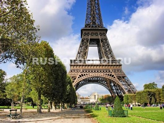 Парк в Париже