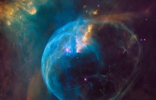 Фотография космоса со спутника