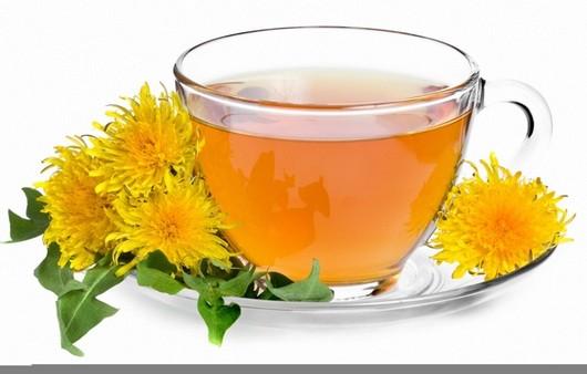 Чай с одуванчиками