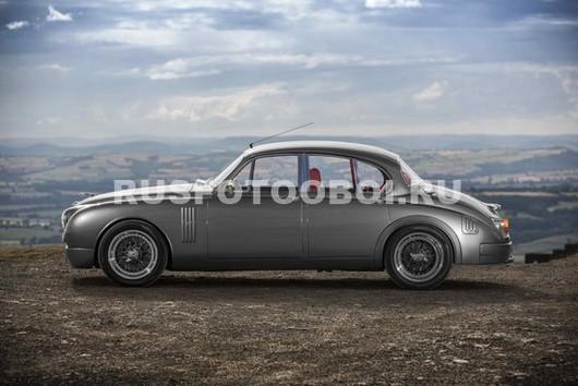Фотообои Автомобиль на фоне гор