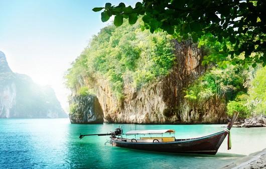 Лазурный берег в Таиланде