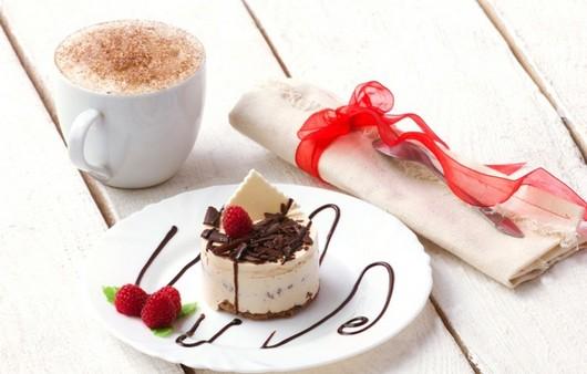Фотообои Десерт с вишней
